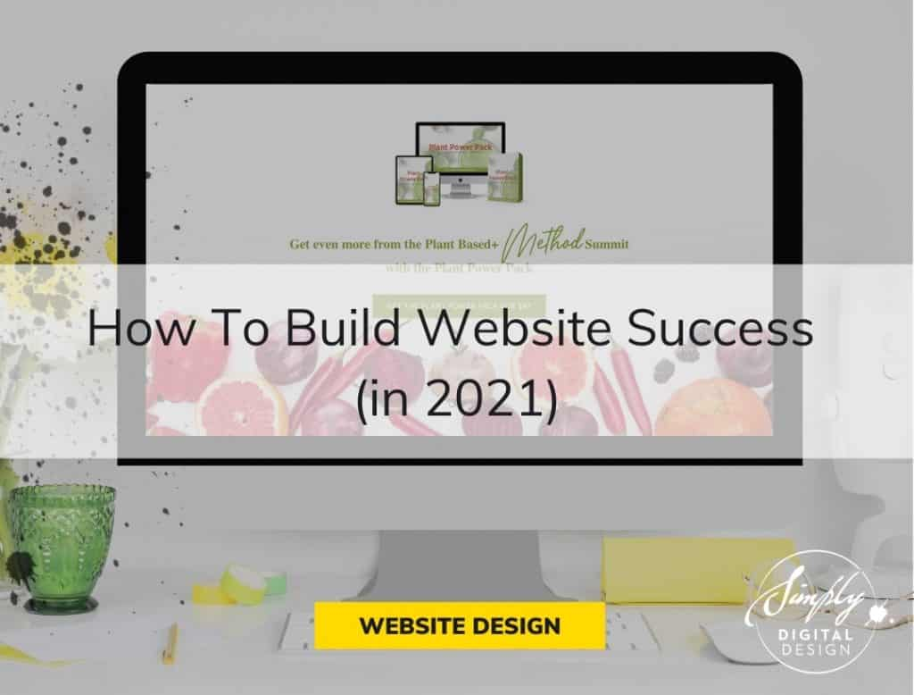 Website Success Simply Digital Design Website Example